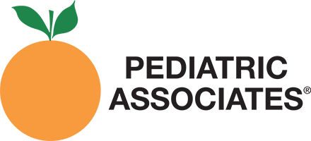 Pediatric Associates Sticky Logo